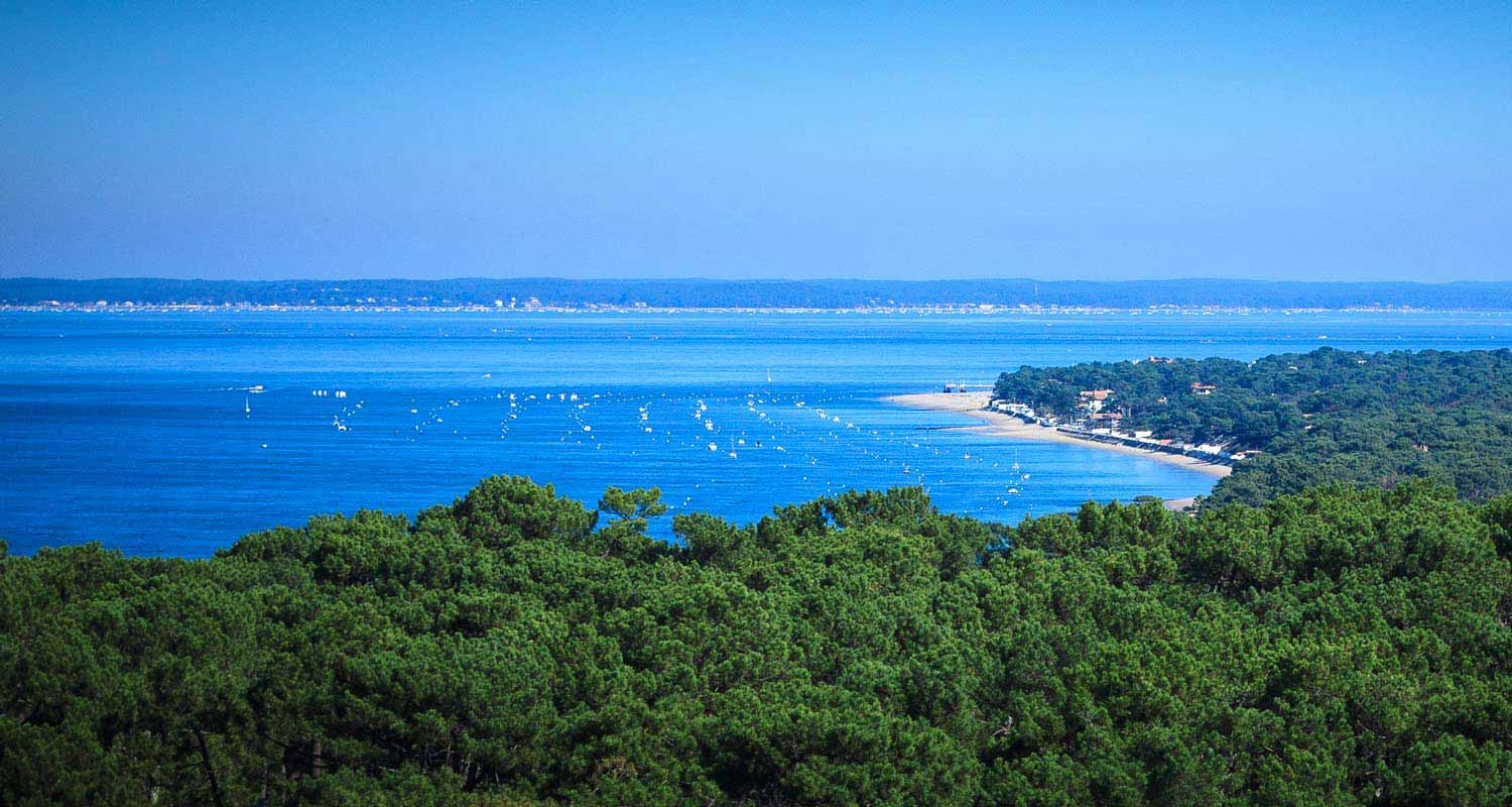 Camping cap ferret gironde 4 toiles location mobil home - Camping bassin d arcachon piscine ...