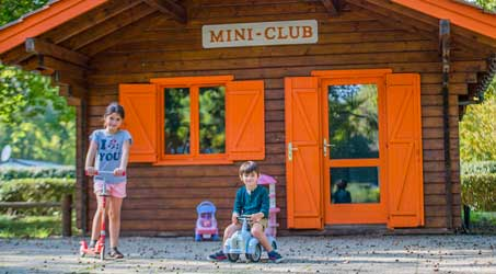 Camping pour enfants Gironde