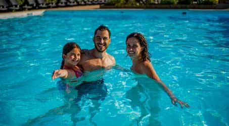 Espace aquatique familial en Gironde