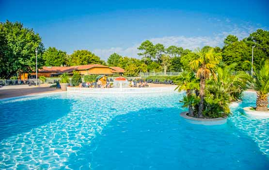 camping gironde avec piscine parc aquatique bassin d