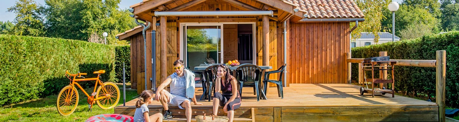 camping chalet location arcachon
