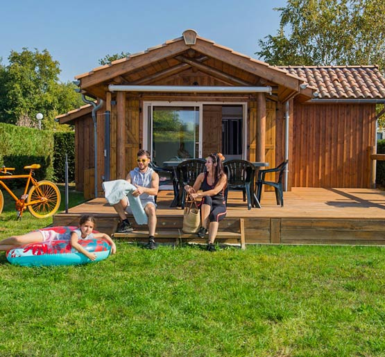 camping chalet location vip arcachon