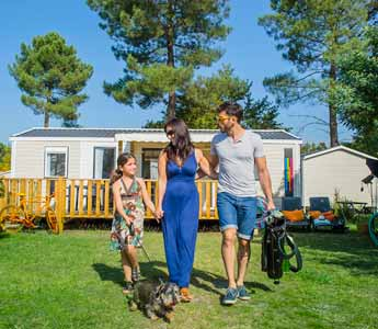 camping familial Arcachon