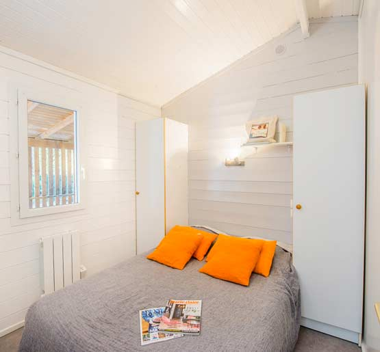 camping location mobil-home 2 chambres gironde