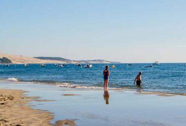 location camping bord de mer arcachon