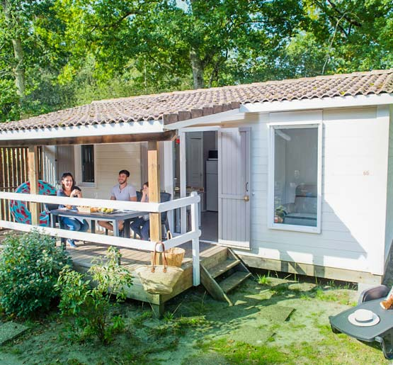 location chalet 2 chambres bassin arcachon