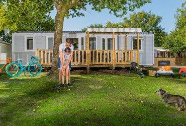 location mobil-home privilège 2 salle de bain arcachon
