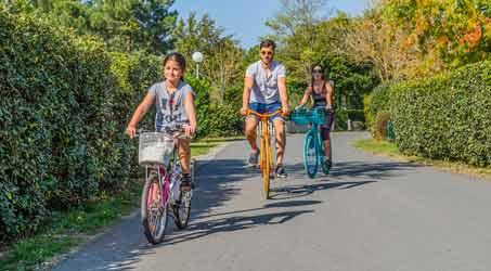 Vélo pour la famille en Gironde