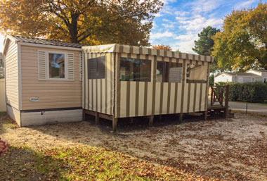 camping vente 3ch mobil-home arcachon