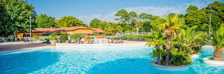 camping cap ferret avec piscine